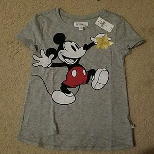 Girls Mickey shirt